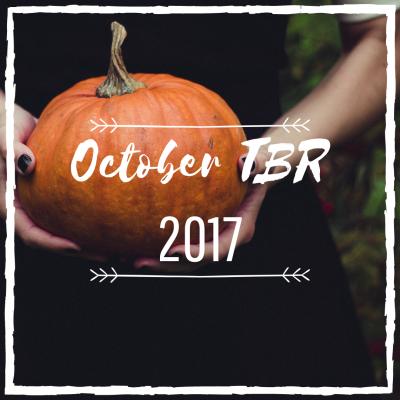 October's Spooky TBR ~ 2017