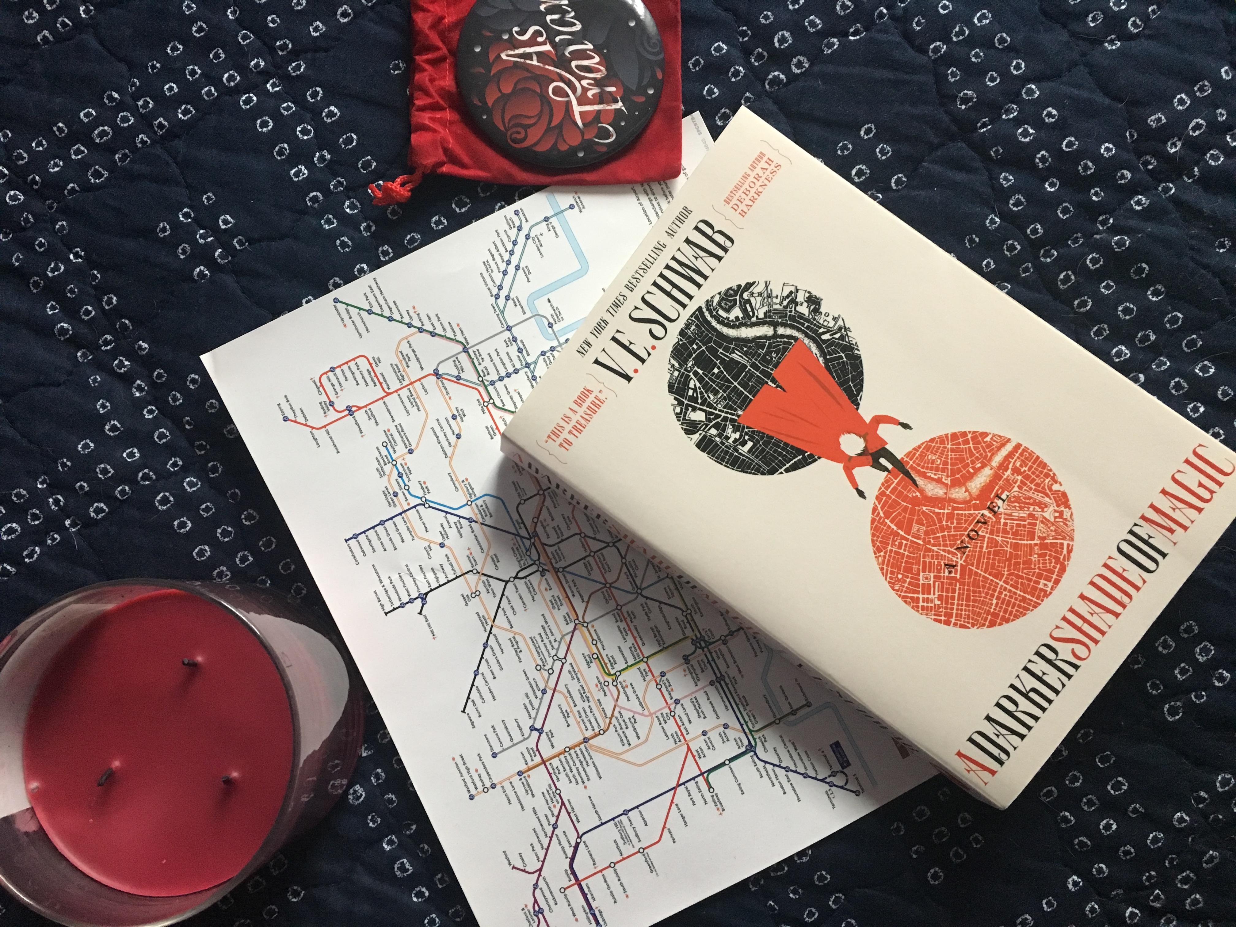 A Darker Shade of Magic by V.E. Schwab: A Book Review