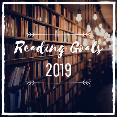 My 2019 Reading Goals