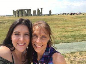 My mom, Sue, and I at Stonehenge | 2018