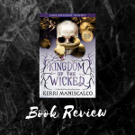 Kingdom of the Wicked book cover with caption of Book Review.